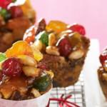 Festive Fruit Cake Muffins