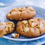 Triple Choc Macadamia Cookies