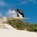 Sandboarding in Joburg