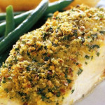 Crumbed Baked Hake F...