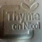 Thyme On Nicol