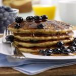 American Blueberry Pancakes