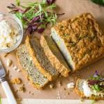 Cheesy Zucchini Bread