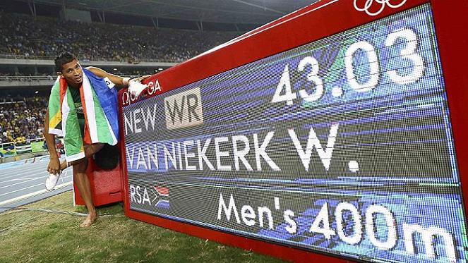 Getty Images(Wayde van Niekerk)