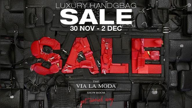 The Next Via La Moda Showroom Sale Dates Have Been Announced!