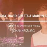 David Guetta in Johannesburg