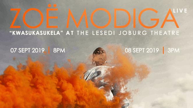Zoë Modiga Live – Kwasukasukela
