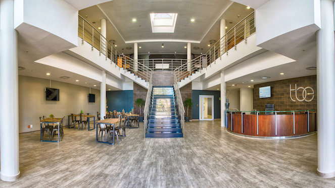 andton-Serviced-Offices-In-Sandton-Shared-Office-Space-Flexible-Office-Space-Enterance-Final-Brown
