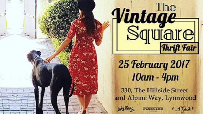 Vintage Square Thrift Fair
