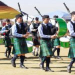 St Benedict's College Pipe Band Gathering