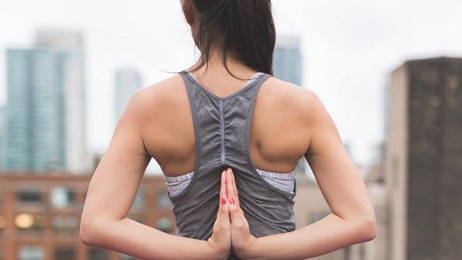 silent disco yoga