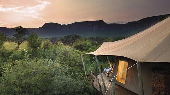 Glamping images from Marataba Luxury Lodges