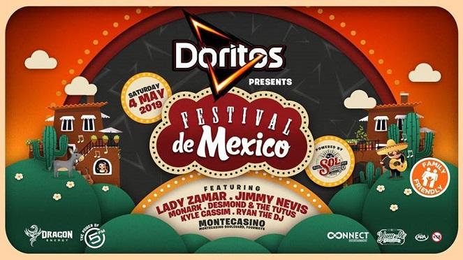 Doritos New Bold Flavour At The Festival Del Mexico