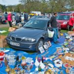 Car Boot Sale At Rosebank Sunday Market