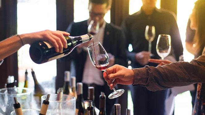 Churchills Bar Wine Tasting