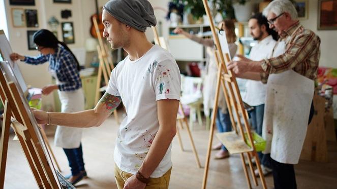 Jozi Skyline Art Workshop