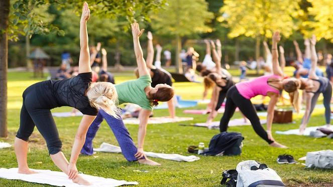 Rhodes Park Yoga