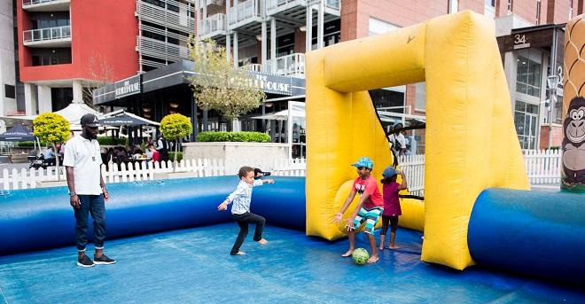 Melrose Arch Playground