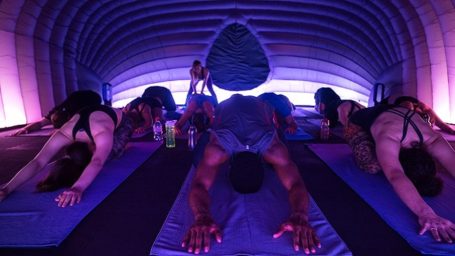 Anyone Up For Some Hotpod Yoga?