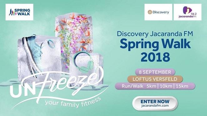 The Discovery Jacaranda FM Spring Walk