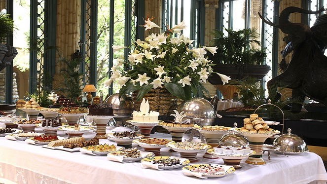 High Tea at The Palace Gets Even More Lavish