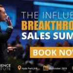 Don't Miss The Influence Breakthrough Sales Summit With...
