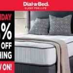 Get 20% Off Everything At Dial-a-Bed's Black Friday Sal...