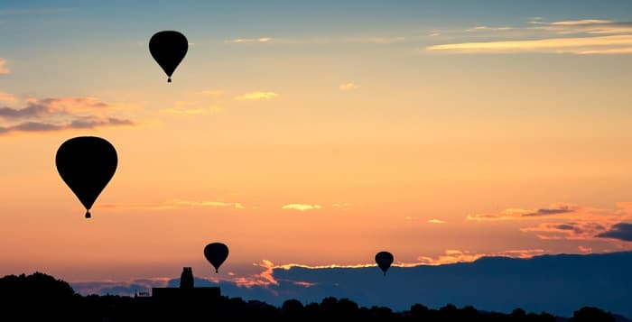 Hot Air Balloons Trip