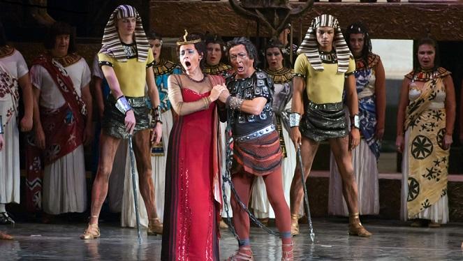 """Verdi's """"Aida"""" Abridged At Nelson Mandela Square"""