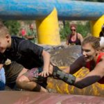 CANSA East Rand Family Mud Challenge