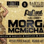 Don't Miss Drag Tour SA ft. Morgan McMichaels!