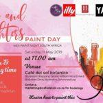 Moms & Daughters Paint Day At Café del Sol Botanico