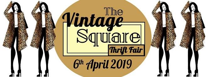 The Vintage Square Thrift Fair April 2019 Edition