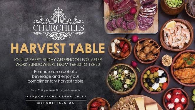 Churchills Harvest Table