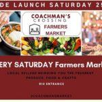 Grande Launch Of The Coachman's Crossing Farmers Market