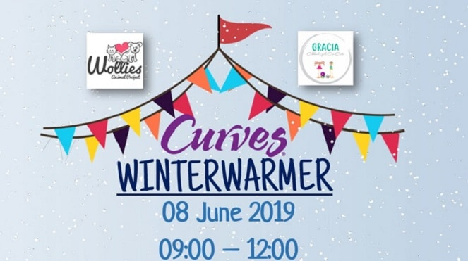 Curves Winter Warmer with Wollies and Gracia Child Centre