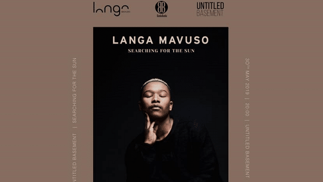 Langa Mavuso 'Searching For The Sun' Live