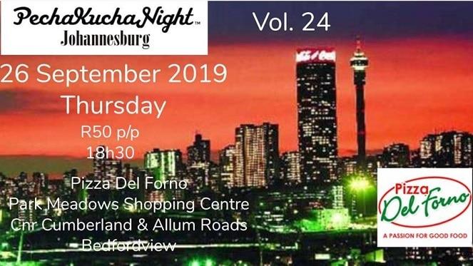 PechaKucha Night At Pizza Del Forno Bedfordview