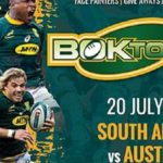 Catch The Castle Lager Rugby Championship at Boktown Si...