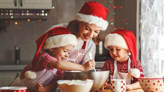 festive Christmas baking