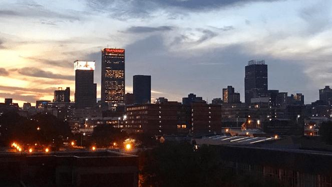 Rooftops Johannesburg