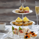 High Tea at The Saxon Hotel