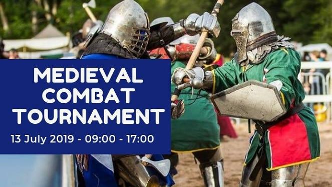 Medieval Combat Tournament at The Art Farm