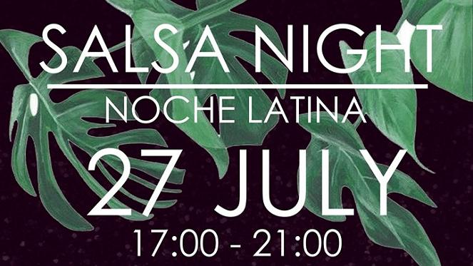 Salsa Night Noche Latina