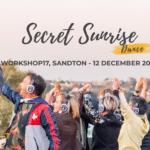 Secret Sunrise Pre-Workout Party