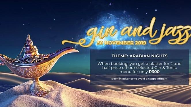 Arabian Nights Gin & Jazz Event