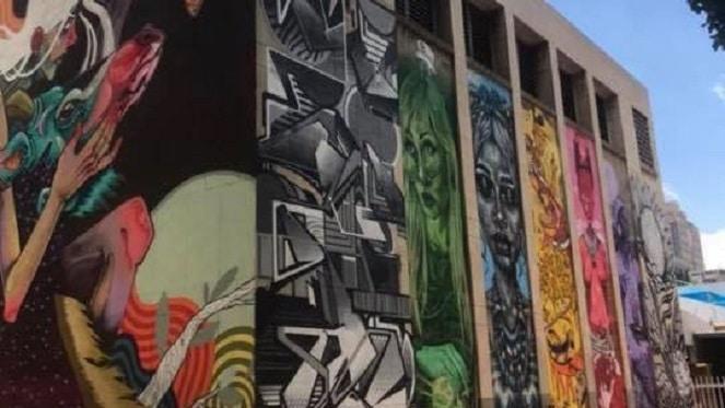 Braamfontein Mini Graffiti Tours with Bias