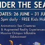 Under the Sea Holiday Free Edutainment at Cradlestone M...