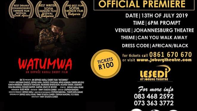 Watumwa Short Film Screening