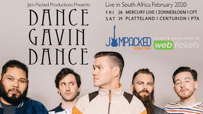 Dance Gavin Dance Live Pretoria